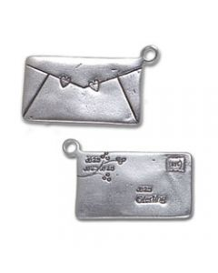 Sterling Silver Love Letter Charm Z-833
