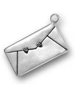 Sterling Silver Love Letter Charm, Small