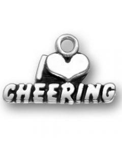 Sterling Silver I * Cheering Charm ZZZ-2496