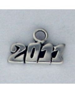 Sterling Silver Graduation 2011 Year Charm ZZZ-2510