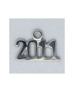 Sterling Silver Graduation 2011 Year Charm ZZZ-2512
